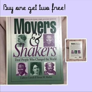Movers & Shakers Book